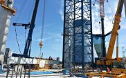Opolskie: Mostostal montuje stalową konstrukcję kotła w Elektrowni Opole