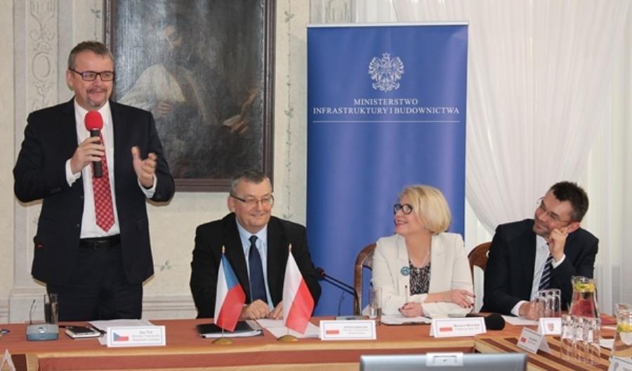 Wspólnie z Czechami chcemy rozwijać korytarze transportowe