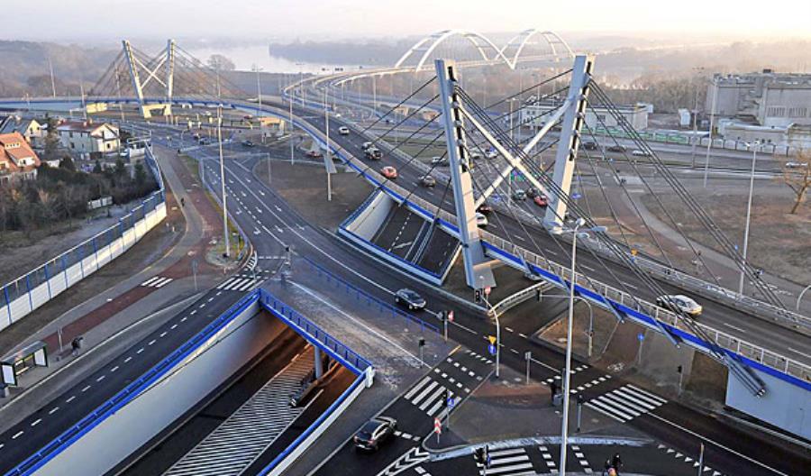 Toruń myśli nad trzecim mostem drogowym. Zleca koncepcję