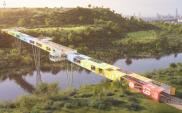 Izraelski pomysł na most z kontenerów