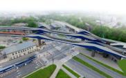Kraków: Kulminacyjny etap montażu przęseł kolejowej łącznicy