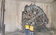 Metro: Tarcza Maria przebiła się do stacji Targówek. Pierwszy odcinek tunelu gotowy