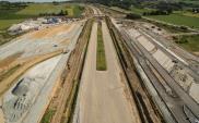 Dolny Śląsk: Nad budowaną ekspresową piątką otwarto nowy wiadukt