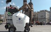 Kraków testuje odkurzacz do chodników i ulic