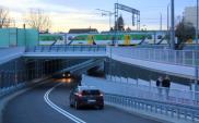 Drugi tunel pod torami w Wołominie już otwarty