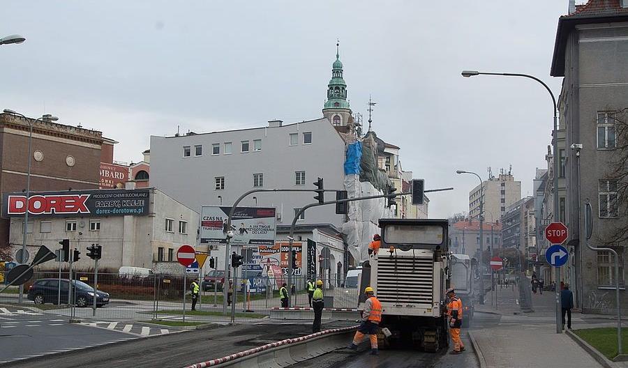 Olsztyn: Nowa ul. Pieniężnego z buspasem już w grudniu