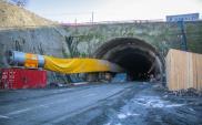 Trwa budowa tunelu na Zakopiance