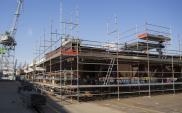 Wznowiono prace związane z budową mostu na Wyspę Sobieszewską