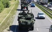 Pojazdy armii amerykańskiej jadą przez Polskę. Którymi trasami?