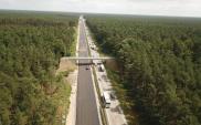 Na A6 koło Szczecina dwiema jezdniami. Roboty zawieszone na czas wakacji