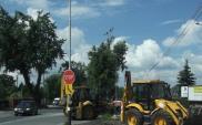 Łódź: Początek budowy ronda na DK71