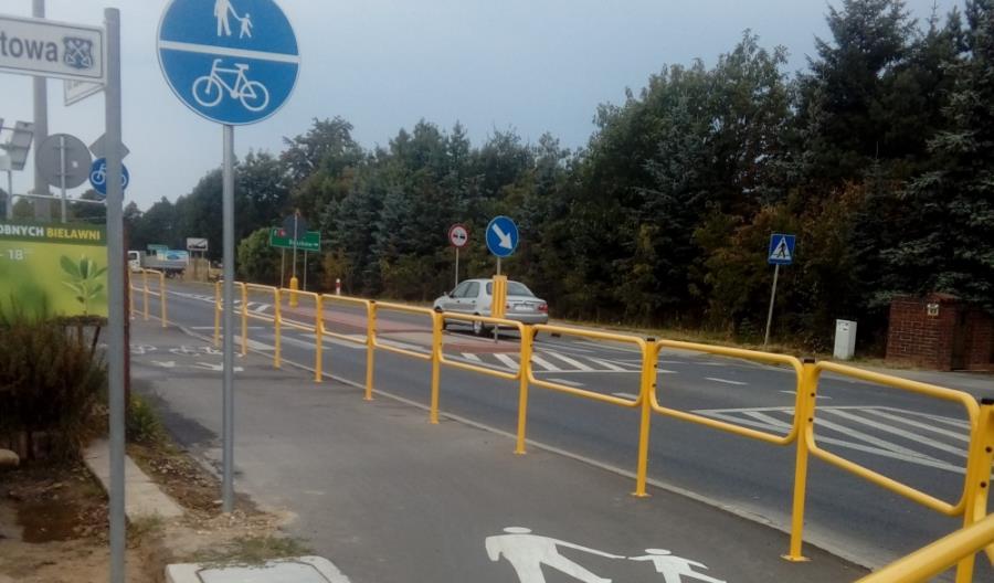 Wielkopolskie: Nowa ścieżka rowerowa przy DK-15