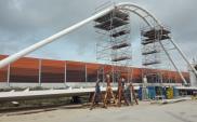 Kujawsko-pomorskie: Trwa budowa kładki dla pieszych nad autostradą A1