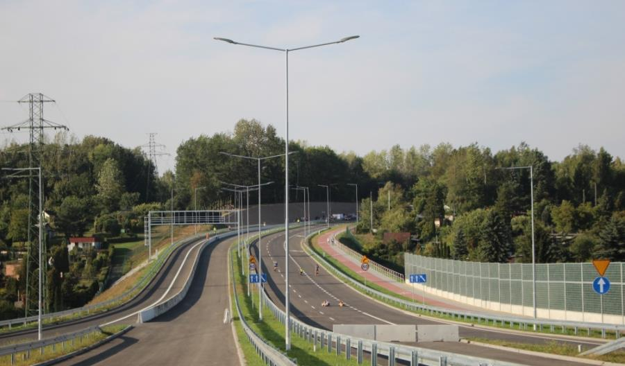 Ruda Śląska z kolejnym odcinkiem trasy N-S