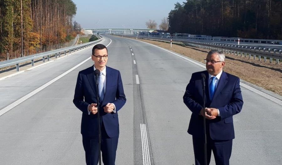 Morawiecki i Adamczyk na trasie S8. Otwarcie najpewniej w piątek