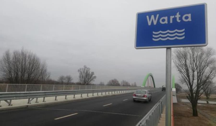Łódzkie. Most przez Wartę w Warcie rozbudowany