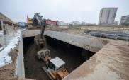 Warszawa: Krótka przerwa zimowa na budowie tunelu na Ursynowie