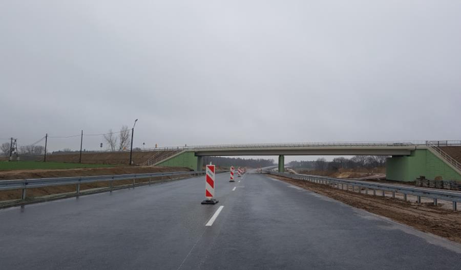 Jeździmy jedną jezdnią S5 od węzła na A2 do Mosiny