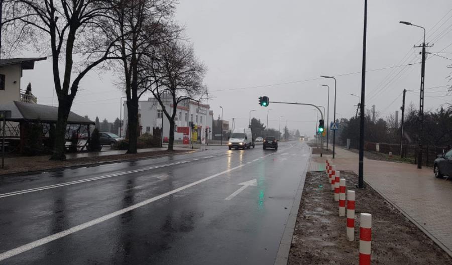 Łódzkie: Niebezpieczne skrzyżowanie w Błaszkach przebudowane