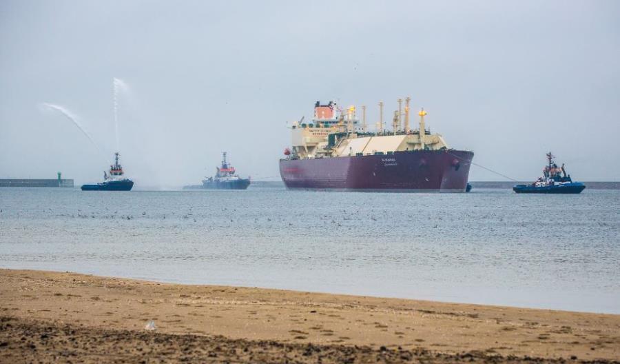 50. dostawa skroplonego gazu ziemnego LNG do Polski