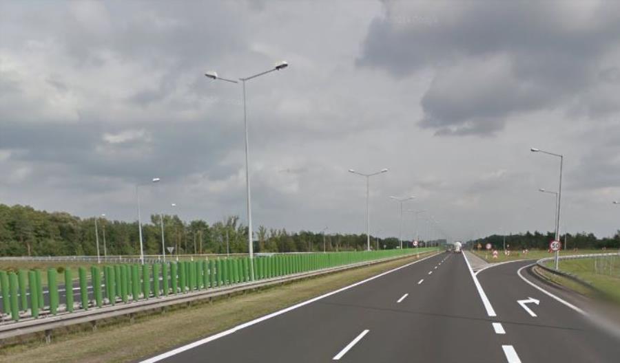Od środy prace w pobliżu węzła Poznań Luboń na A2