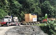 Fracht FWO Polska dostarcza 75-tonowy zawór kulowy do Kolumbii