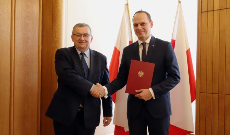 Rafał Weber nowym wiceministrem od dróg