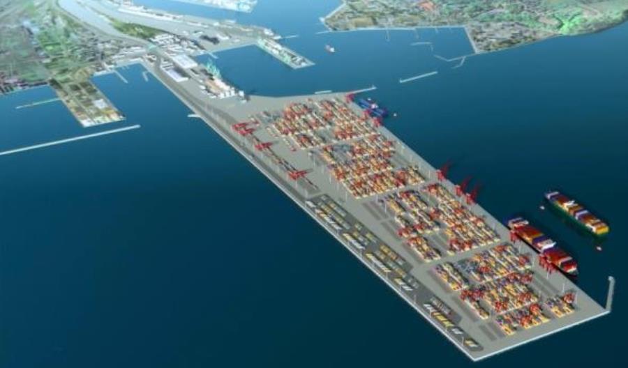 Budowa Portu Zewnętrznego w Gdyni z udziałem Multiconsult Polska