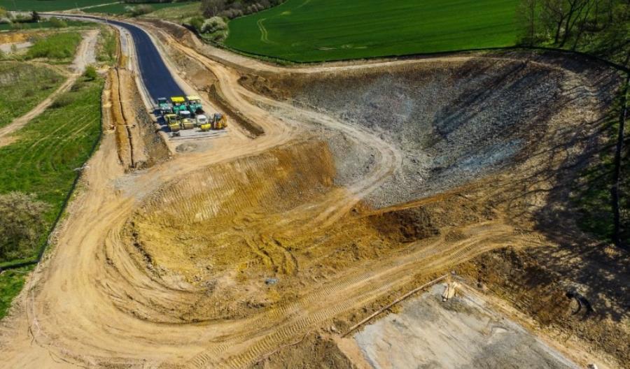 Budują ostatni wiadukt na obwodnicy Bolkowa