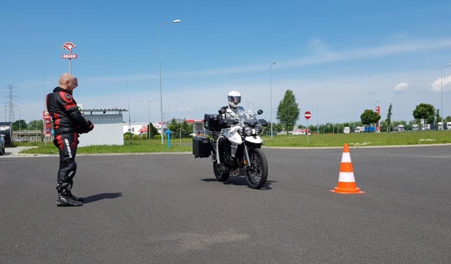GDDKiA: Nasze patrole motocyklowe podnoszą swoje kwalifikacje