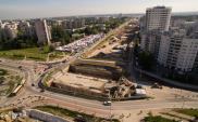 Budowa odcinka Astaldi w ciągu POW przekroczyła 54% zaawansowania [WIDEO]
