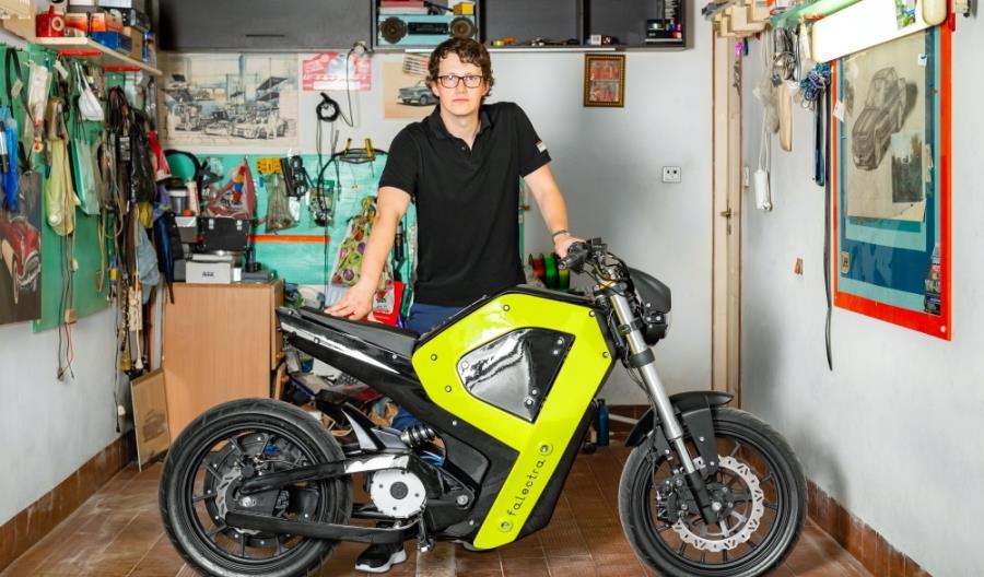 Powstał pierwszy polski motocykl elektryczny. Wykorzystano druk 3D