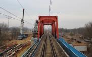 Przęsła mostów z CMK na linii Łuków – Radom