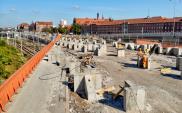 Gdańsk. Trwa rozbiórka starego wiaduktu na Trakcie św. Wojciecha