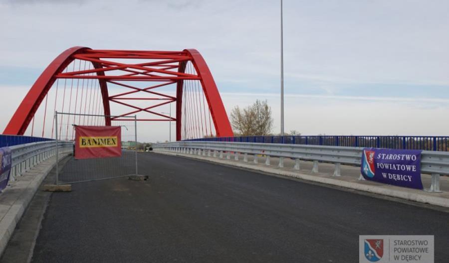 Podkarpackie. Nowy most przez Wisłokę otwarty