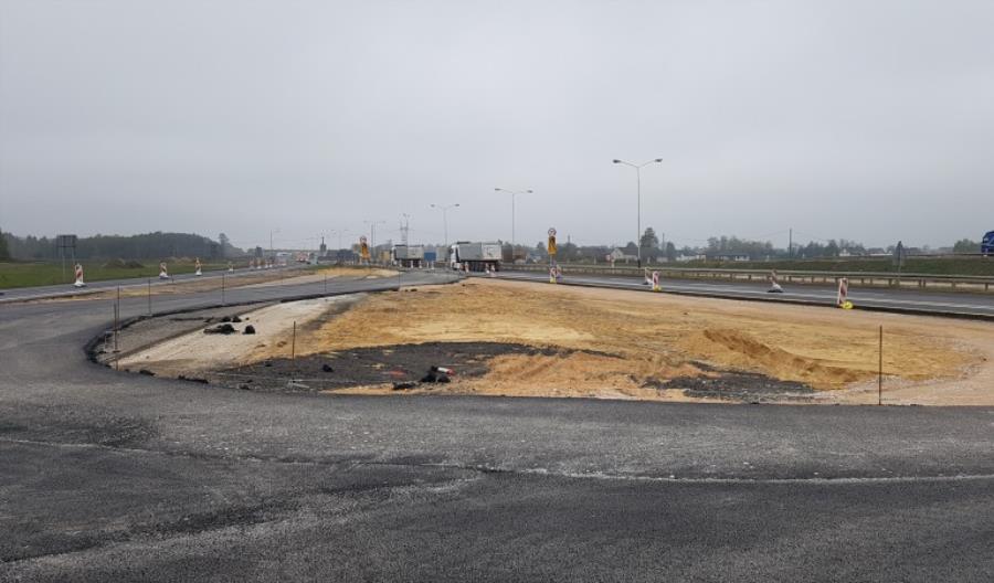Będą zmiany na skrzyżowaniu A1 z S8. Łącznica idzie do wyburzenia