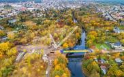Bydgoszcz. Otwarcie nowej kładki nad Brdą za miesiąc