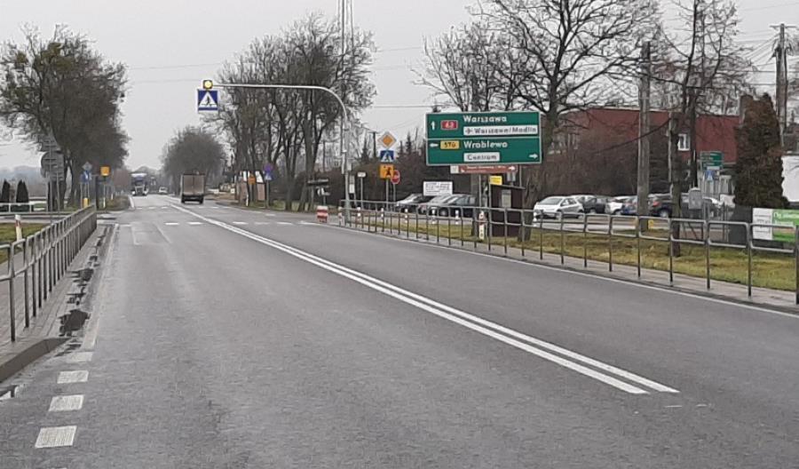 Rozpoczyna się budowa ronda na DK-62 w Czerwińsku