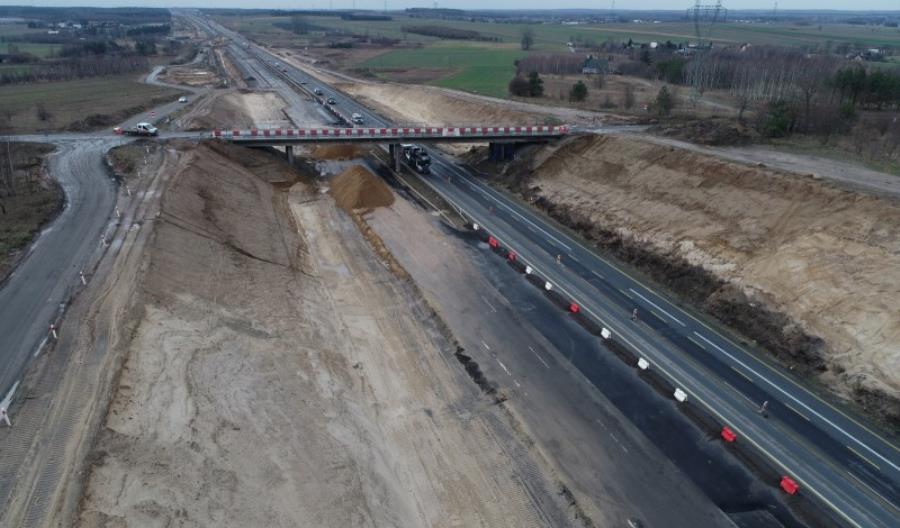 Będą burzyć wiadukty na DK-1 Radomsko-Kamieńsk. Droga będzie zamknięta