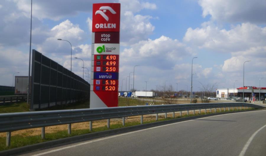 Druga stacja paliw na podkarpackiej A4