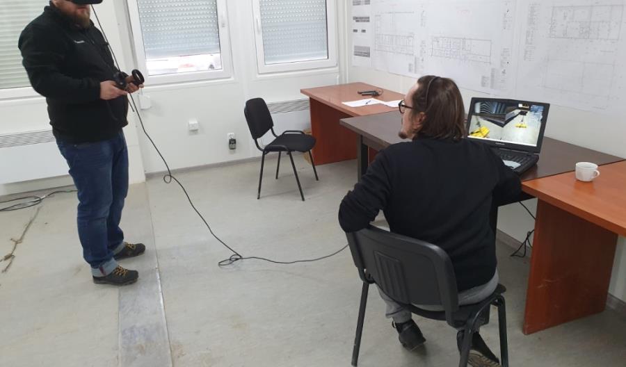 Wirtualna rzeczywistość na szkoleniach BHP w Budimeksie
