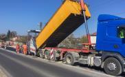 Roboty asfaltowe na łącznicach węzła Częstochowa Blachownia i DK-46
