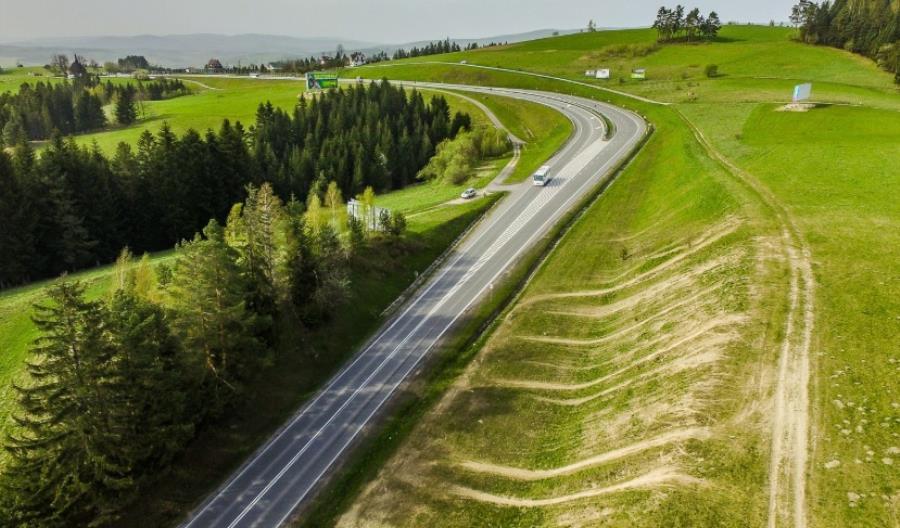 Dwiema jezdniami na Podhale. Ruszyła budowa odcinka Rdzawka – Nowy Targ na DK-47