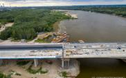 Tak wyglądają postępy na moście Południowej Obwodnicy Warszawy [film]