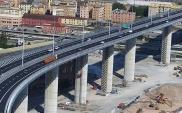 Nowy most w Genui już po oficjalnym otwarciu