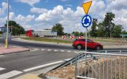 Nowe rondo na skrzyżowaniu z drogą krajową nr 78