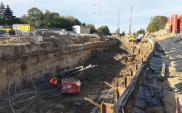 Komory startowe i reaktywacja maszyn do drążenia kolejowych tuneli w Łodzi