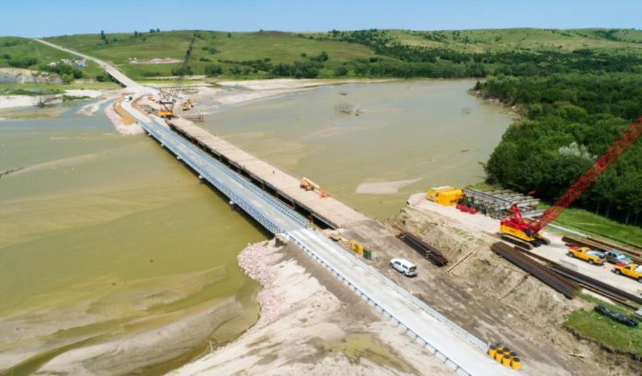 USA. Most w Nebrasce odbudowany po powodzi