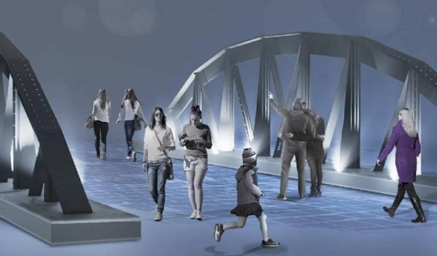 Bielsko-Biała. Miasto stara się o rekonstrukcję historycznego mostu