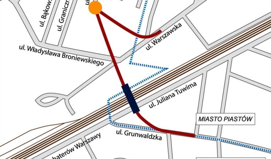 Ważny krok w stronę wiaduktu nad torami w Pruszkowie